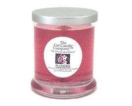 Plumeria Scented Gel Candle - 120 Hour Deco Jar - €13,53 EUR