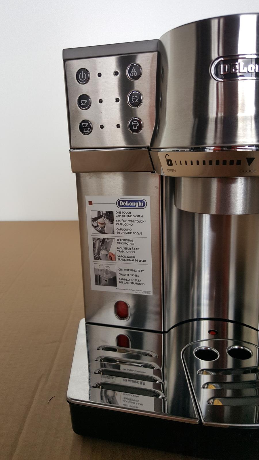 delonghi ec860 15 bar pump espresso latte and cappuccino. Black Bedroom Furniture Sets. Home Design Ideas