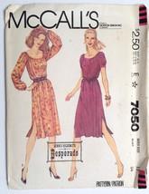 McCalls 7050, Misses Dress and Belt, Size 12 - $4.95