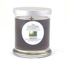 Bamboo Scented Gel Candle - 120 Hour Deco Jar - €13,79 EUR