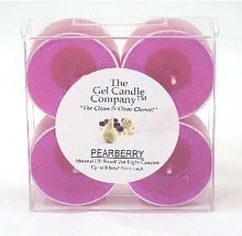 Pearberry Scented Gel Candle Tea Lights - 4 pk. - €4,20 EUR