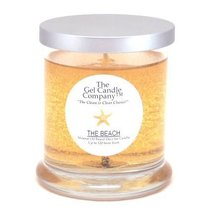 The Beach Scented Gel Candle - 120 Hour Deco Jar - $15.47