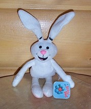 Breakfast Babies Trix Silly Rabbit Plush White General Mills Cereal Mascot  - $4.29