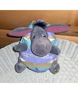 "Winnie Pooh Happy Easter Colorful Egg Costume Eeyore Plush 6"" Disney World - $9.95"