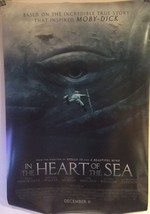 In the Heart of the Sea Movie Poster Original Double Sided 27 x 40 - $19.20
