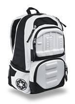 Star Wars The Force Awakens Stormtrooper Molded Backpack - Padded, Adjus... - $119.99