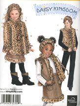 2006 Girls Coat, Vest, & Skirt Pattern Simplicity 2780 Size 3 to 8 Uncut - $2.00