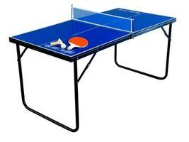 Table Tennis Ping Pong Folding Portable Top Indoor Outdoor Mini Game Spo... - $184.99