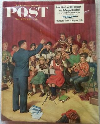 Primary image for The Saturday Evening Post March 22, 1952 - FULL MAGAZINE