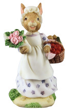 "Royal Dulton Resin Bunnykins Figurine ""A Busy Morning Shopping"" DBR7 - $18.99"