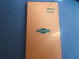 Chevrolet Vintage Memo Book/Tablet - $6.00