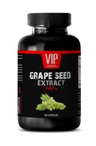 Blood pressure supplement - GRAPE SEED EXTRACT 100 - Grape seed suppleme... - $12.82
