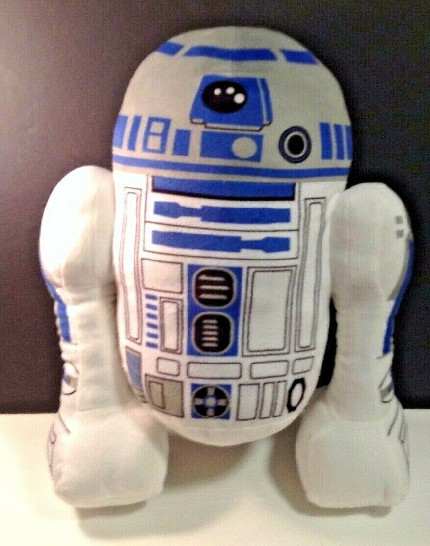 "Primary image for Star Wars Plush Pillow R2D2 R2 D2 Large 21"" Tall Large Stuffed Doll Toy"
