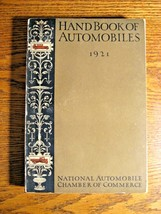 1921 Handbook of Automobiles Hand Book, Cadillac Packard Buick Auburn So... - $86.63