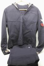 Superb Original 38R WW2 WWII Navy Uniform Wool Pullover+Pants Mens Jumpe... - $92.57