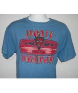 MENS HARLEY DAVIDSON ORLANDO T SHIRT LARGE CRANK IT UP DEVIL LOGO - $28.66