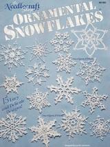 Ornamental Snowflakes, The Needlecraft Shop Crochet Pattern Booklet 9013... - $14.95