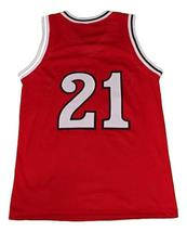 Walter Berry St John's Basketball Jersey Sewn Red Any Size image 2