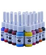 Tatooine 20 Colors Tattoo Ink Set Pigment Kit Tattoo Paints Tattoo Suppl... - $11.14