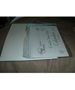 """Create Your own calendar 14 Month & 12 Paper Accents 8.5"""" 5.5"""" & 11'x 8.... - $1.97"""