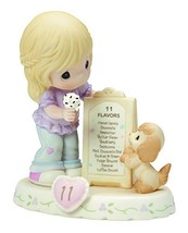 Precious Moments,  Growing In Grace, Age 11, Bisque Porcelain Figurine, ... - $56.06