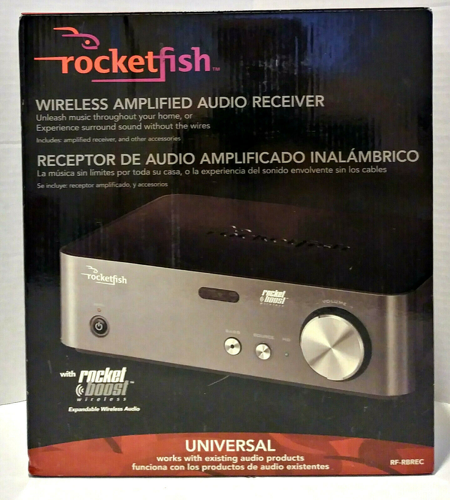 Primary image for Rocketfish Wireless Amplified Audio Receiver RF-RBREC