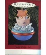 Vintage Hallmark Keepsake Christmas Ornament - Jolly Wolly Ark - Noahs A... - $4.45
