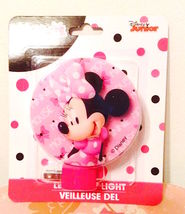 Disney Minnie Mouse Led Night Light  New in Package—More Characters Avail  Too