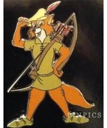 Disney Robin Hood Prince of Nottingham with Bow and Arrow Pin - $24.49