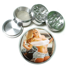 Colorado Pin Up Girls D11 63mm Aluminum Kitchen Grinder 4 Piece Herbs & Spices - $11.05
