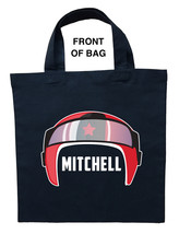 Race Car Driver Trick or Treat Bag, Personalized Race Car Driver Hallowe... - $11.99+