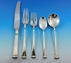 Modern Georgian Mexico Sterling Silver Flatware Set Service 51 pcs Dinner - $6,150.00