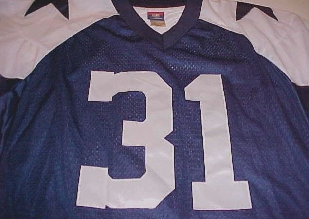 Roy Williams 31 Dallas Cowboys NFL Reebok Gridiron Throwbacks Blue Jersey L 717ebab87