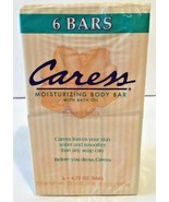 VTG 1997 Caress Moisturizing Body Bar With Bath Oil Original Peach 6 Soa... - $179.99