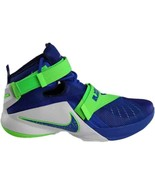 Nike Lebron IX 9 Soldier Sprite Game Blue/Green 749417-601 Mens Basketball - $114.95