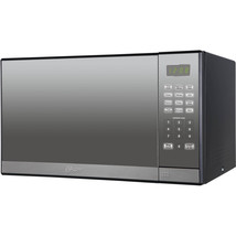 Microwave Oven 1.3 cu ft With Grill And Mirror Finish Silver 1000 Watts New - $118.79