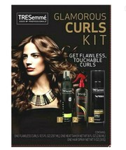 TREsemme Glamorous Curls Kit 3 Step Prep Style Finish Flawless Touchable... - $21.77