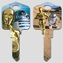Star Wars Key Blanks (Kwikset-KW, C-3PO & R2-D2) - $9.89