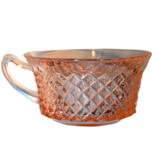 Westmoreland English Hobnail Pink Depression Era teacup cup - $24.99