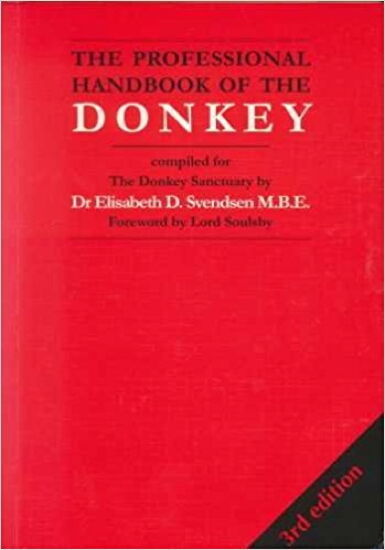 The Professional Handbook of the Donkey : Elisabeth D Svendsen : New Softcover @