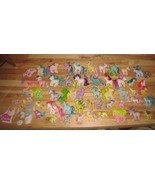 Vintage G1 80s My Little Pony Lot 47 Ponies & lots of Clothing & Accesso... - $470.24