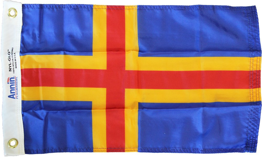 "Primary image for Aaland Islands - 12"" x 18"" Nylon Flag"