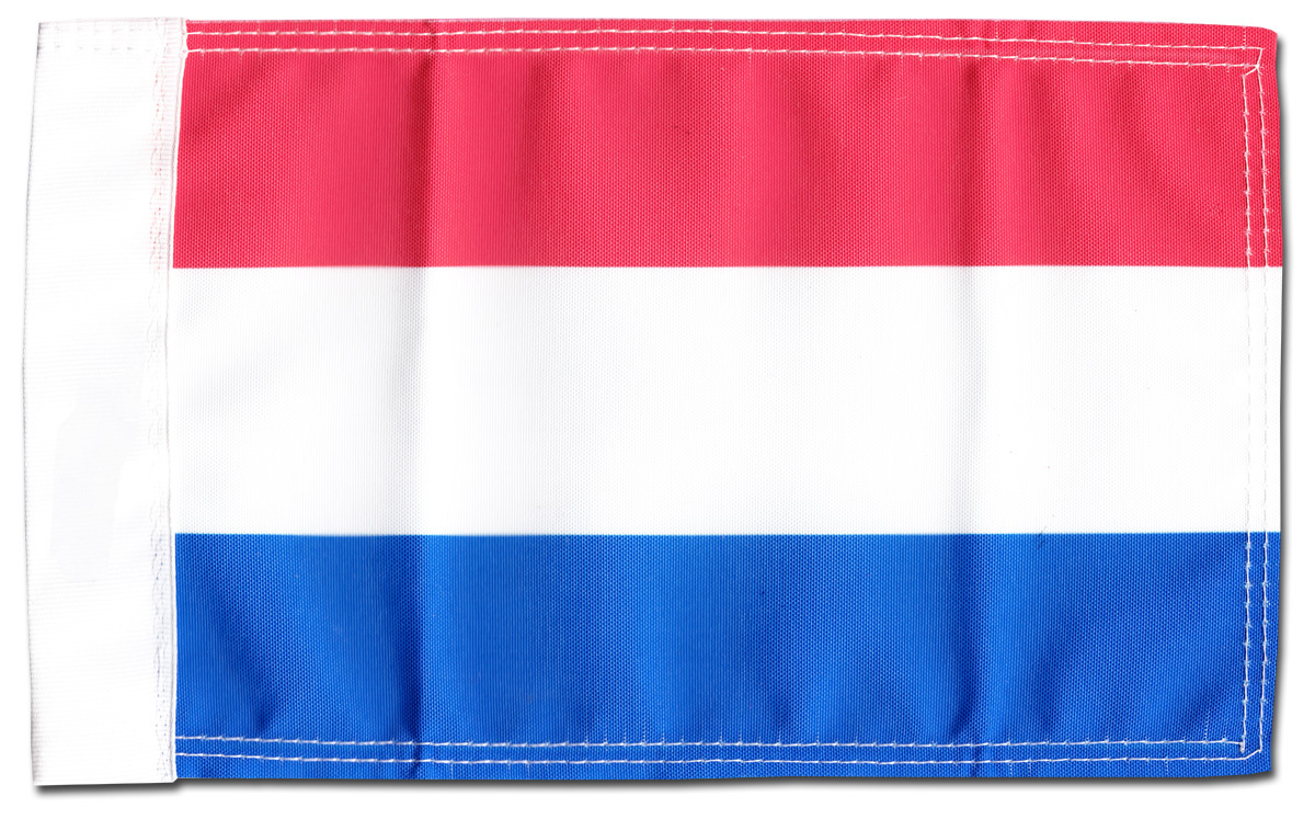"Primary image for Netherlands - 5.5"" x 8.5"" Motorcycle Flag"