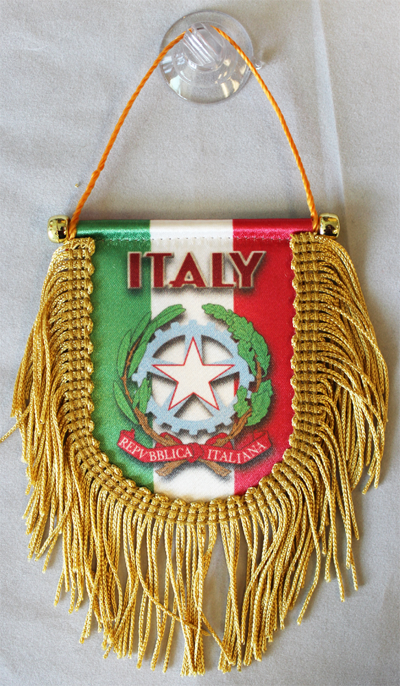 Primary image for Italy Window Hanging Flag (Shield)