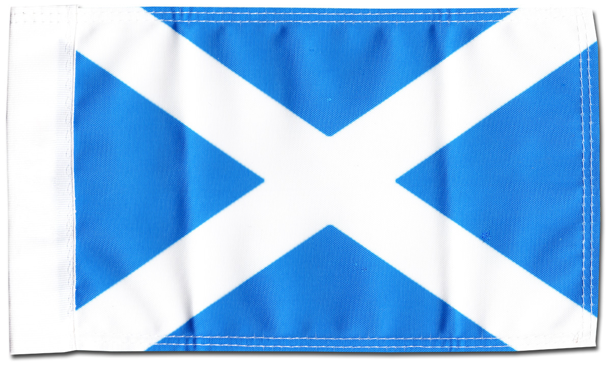 "Primary image for Scotland (St. Andrews) - 5.5"" x 8.5"" Motorcycle Flag"