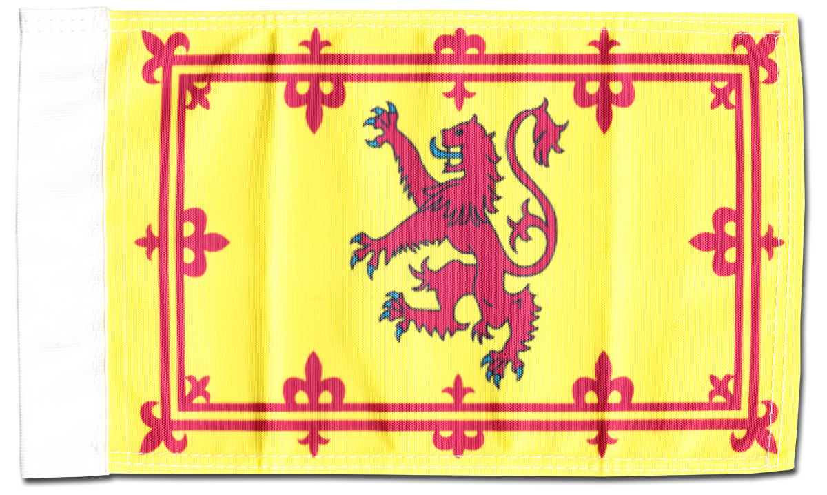 "Primary image for Scotland (Rampant Lion) - 5.5"" x 8.5"" Motorcycle Flag"