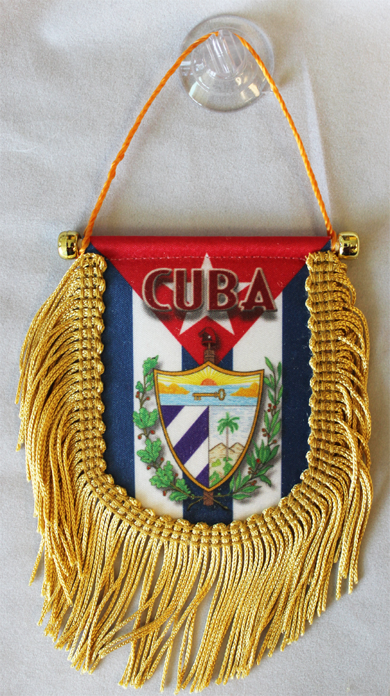 Primary image for Cuba Window Hanging Flag (Shield)