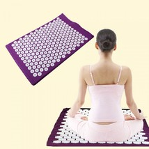 Yoga Mattress Spike Massager Pillow Pad Cushion Acupressure Stress Relie... - $13.99+
