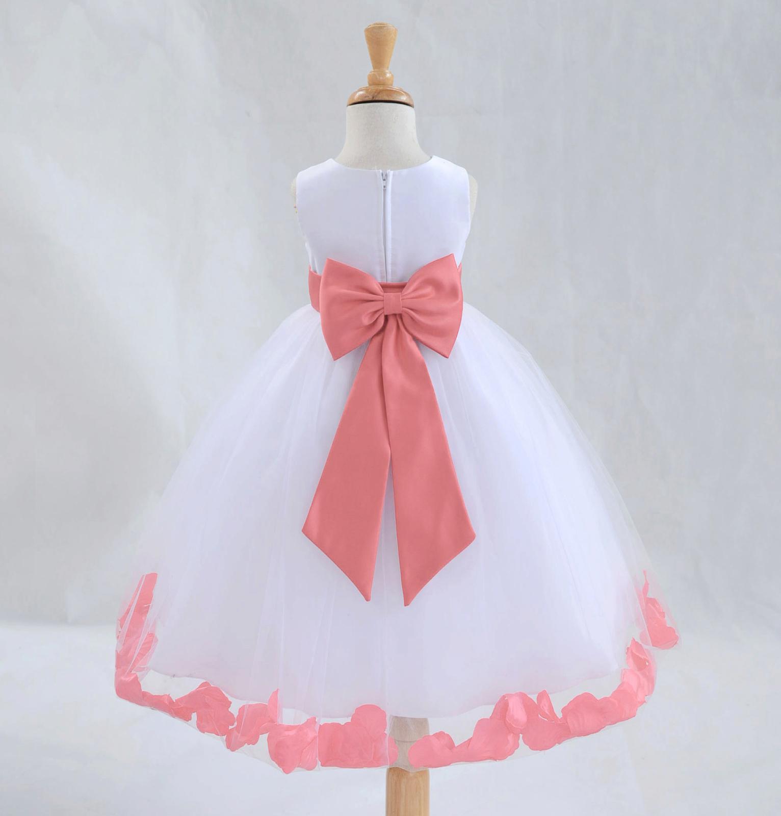 Used White Flower Girl Dress for sale