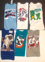 The Childrens Place Infant Toddler Boys T-Shirt Long Sleeve Animals Vari... - $10.99